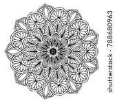 mandalas for coloring book.... | Shutterstock .eps vector #788680963