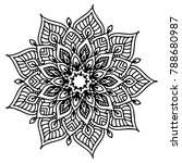 mandalas for coloring book.... | Shutterstock .eps vector #788680987