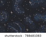 colorful seamless pattern with... | Shutterstock .eps vector #788681083