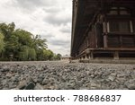 low angle wide angle view of a... | Shutterstock . vector #788686837