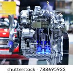 a fragment of the engine | Shutterstock . vector #788695933