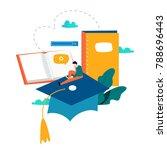 education  online training...   Shutterstock .eps vector #788696443