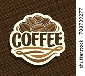 vector logo for coffee | Shutterstock .eps vector #788739277