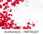 valentine's day. flowers...   Shutterstock . vector #788746267