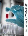 lab technician assistant... | Shutterstock . vector #788749147