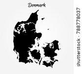 map of denmark | Shutterstock .eps vector #788778037