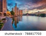 brisbane. cityscape image of... | Shutterstock . vector #788817703