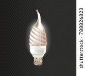 light realistic luminescence... | Shutterstock .eps vector #788826823