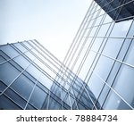 glass skyscrapers at night | Shutterstock . vector #78884734