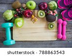 healthy food for heart  diet...   Shutterstock . vector #788863543
