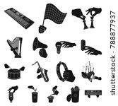 manipulation by hands black...   Shutterstock .eps vector #788877937