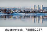 in the cold rays of the winter... | Shutterstock . vector #788882257