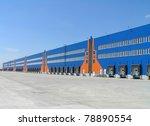 industrial warehouse | Shutterstock . vector #78890554