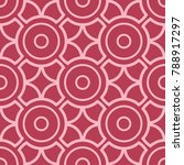 red and pale pink geometric... | Shutterstock .eps vector #788917297