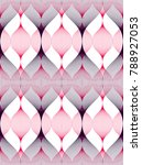 seamless geometric pattern.... | Shutterstock .eps vector #788927053