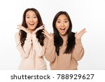 photo of two asian pretty... | Shutterstock . vector #788929627