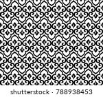 abstract pattern in arabian... | Shutterstock .eps vector #788938453