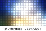 abstract multicolored football... | Shutterstock . vector #788973037