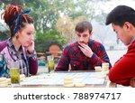 international friend playing...   Shutterstock . vector #788974717