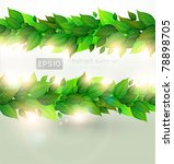 nature background for summer... | Shutterstock .eps vector #78898705