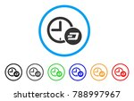 dash credit time rounded icon.... | Shutterstock .eps vector #788997967