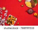 vietnamese food for vietnam tet ... | Shutterstock . vector #788999533