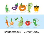 Funny Vegetable Characters  ...