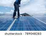 engineer team working on... | Shutterstock . vector #789048283