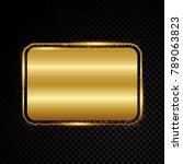 retro banner motel sign eps 10 | Shutterstock .eps vector #789063823