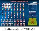vector illustration badges set... | Shutterstock .eps vector #789100513
