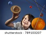 kids and science  self made... | Shutterstock . vector #789103207