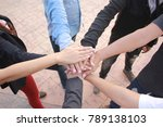 meeting teamwork concept... | Shutterstock . vector #789138103