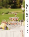 catering service. table bar...   Shutterstock . vector #789162583
