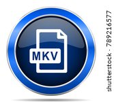 mkv file vector icon. modern...