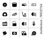 detail icons. vector collection ...