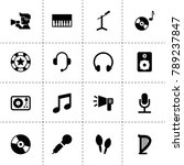 sound icons. vector collection...