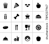eat icons. vector collection...