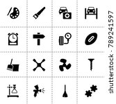equipment icons. vector...