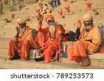 varanasi  india   december 3 ...   Shutterstock . vector #789253573