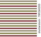 vector striped seamless pattern ... | Shutterstock .eps vector #789260203