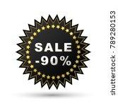 promo sale discounts stickers   ... | Shutterstock .eps vector #789280153