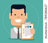 insurance service business agent | Shutterstock .eps vector #789280627