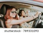 young happy asian girl best... | Shutterstock . vector #789331093