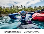 san andres island  colombia _... | Shutterstock . vector #789340993