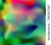 watercolor blur. abstract... | Shutterstock .eps vector #789347587
