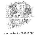 copenhagen. denmark. europe....   Shutterstock .eps vector #789352603