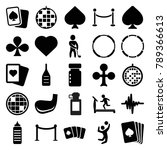 club icons. set of 25 editable... | Shutterstock .eps vector #789366613