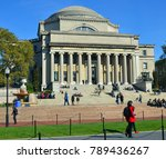 new york city oct 27  columbia... | Shutterstock . vector #789436267
