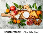 appetizers table with antipasti ... | Shutterstock . vector #789437467