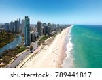 surfers paradise and main beach ... | Shutterstock . vector #789441817